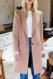 Emerson Fry Tailored Wool Coat - Product Mini Image
