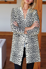 Emerson Fry EMERSON FRY WINGTIP LEOPARD COAT - Back cropped