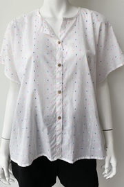 Emerson Fry India Button Down Top - Side cropped