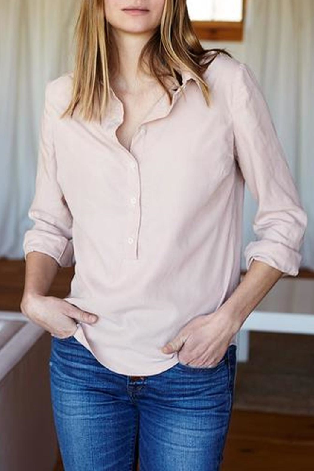 Emerson Fry Ribbons Blouse - Front Cropped Image