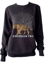 Emerson Fry Tiger Sweatshirt - Front cropped