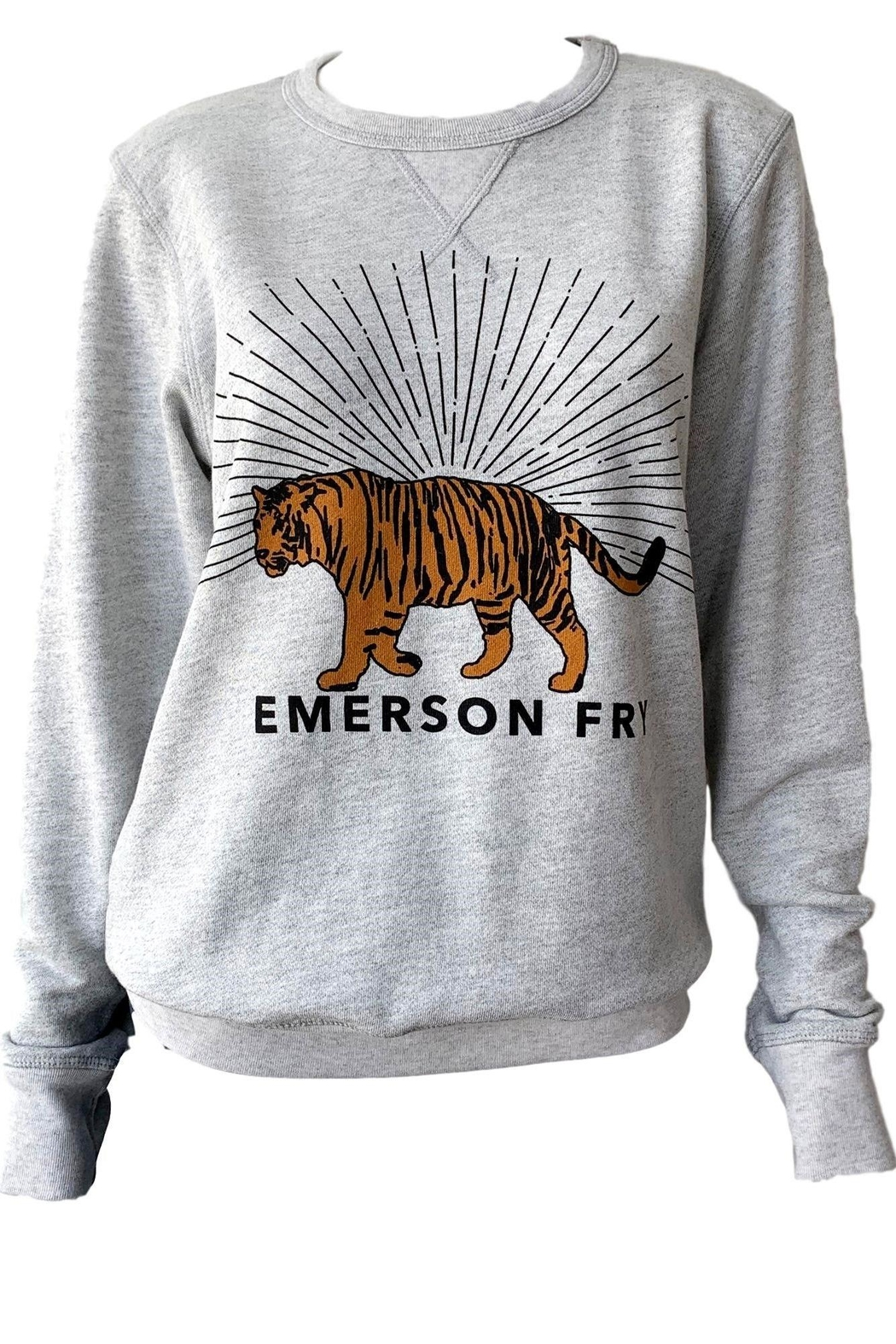 Emerson Fry Tiger Sweatshirt - Front Cropped Image