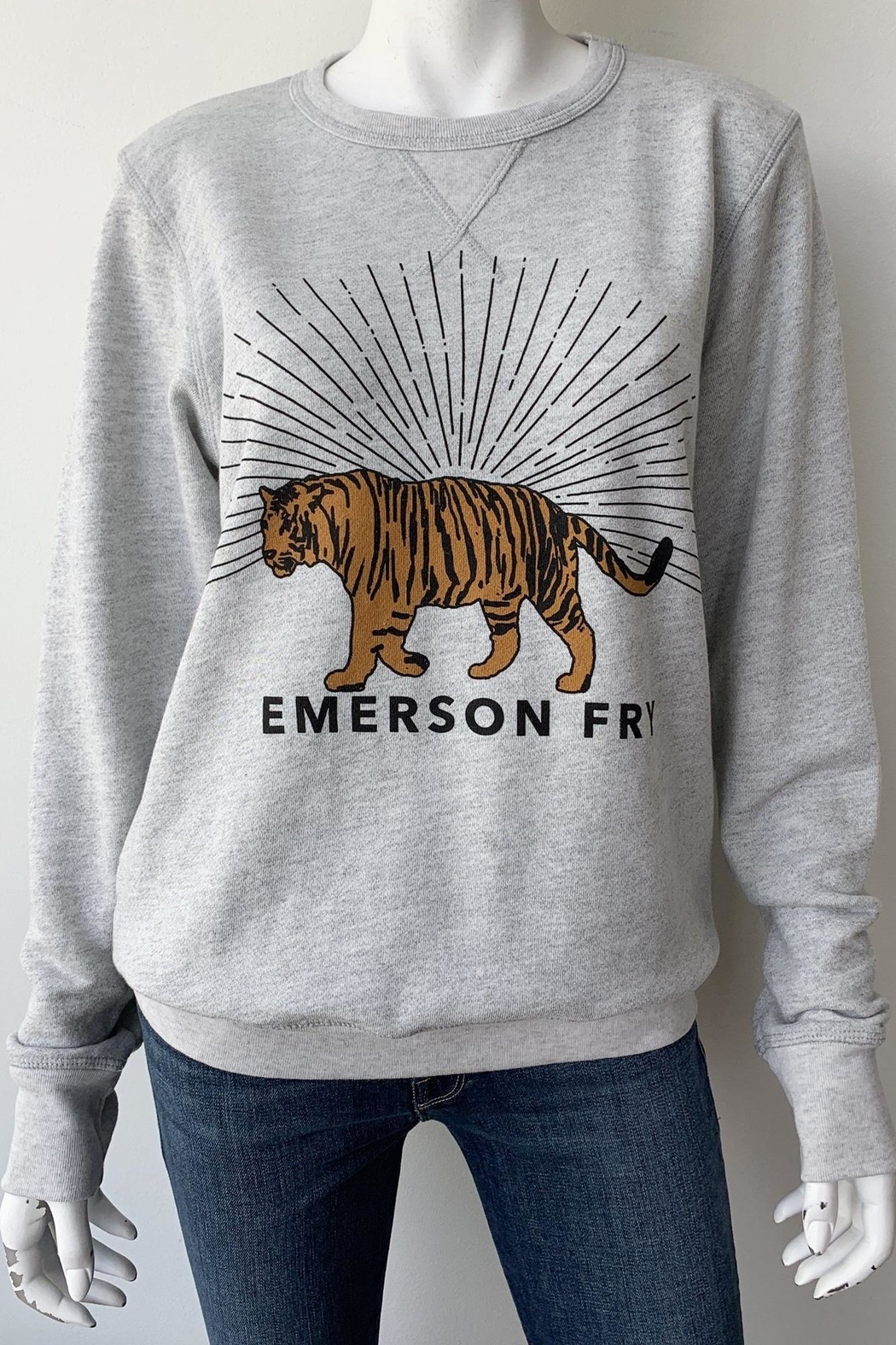 Emerson Fry Tiger Sweatshirt - Front Full Image