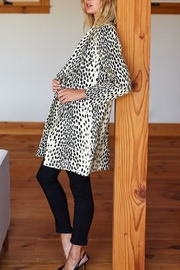 Emerson Fry Wingtip Leopard Coat - Front full body