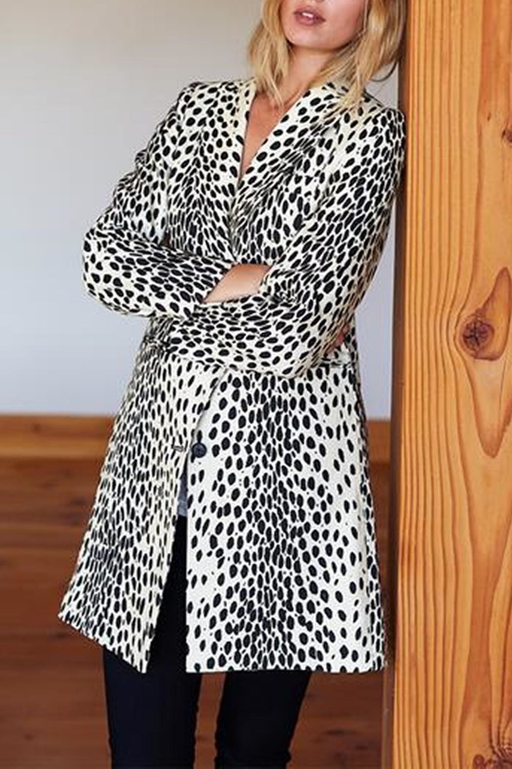 Emerson Fry Wingtip Leopard Coat - Main Image