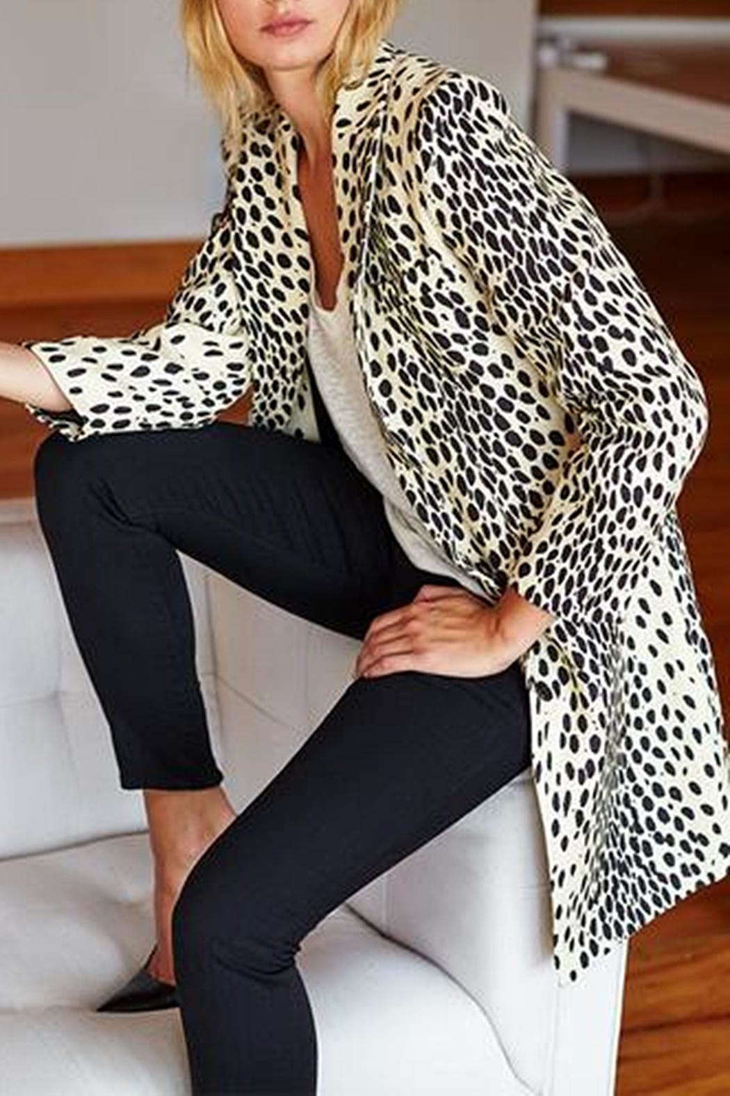 Emerson Fry Wingtip Leopard Coat - Side Cropped Image