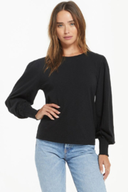 z supply Emery Long Sleeve Top - Front cropped