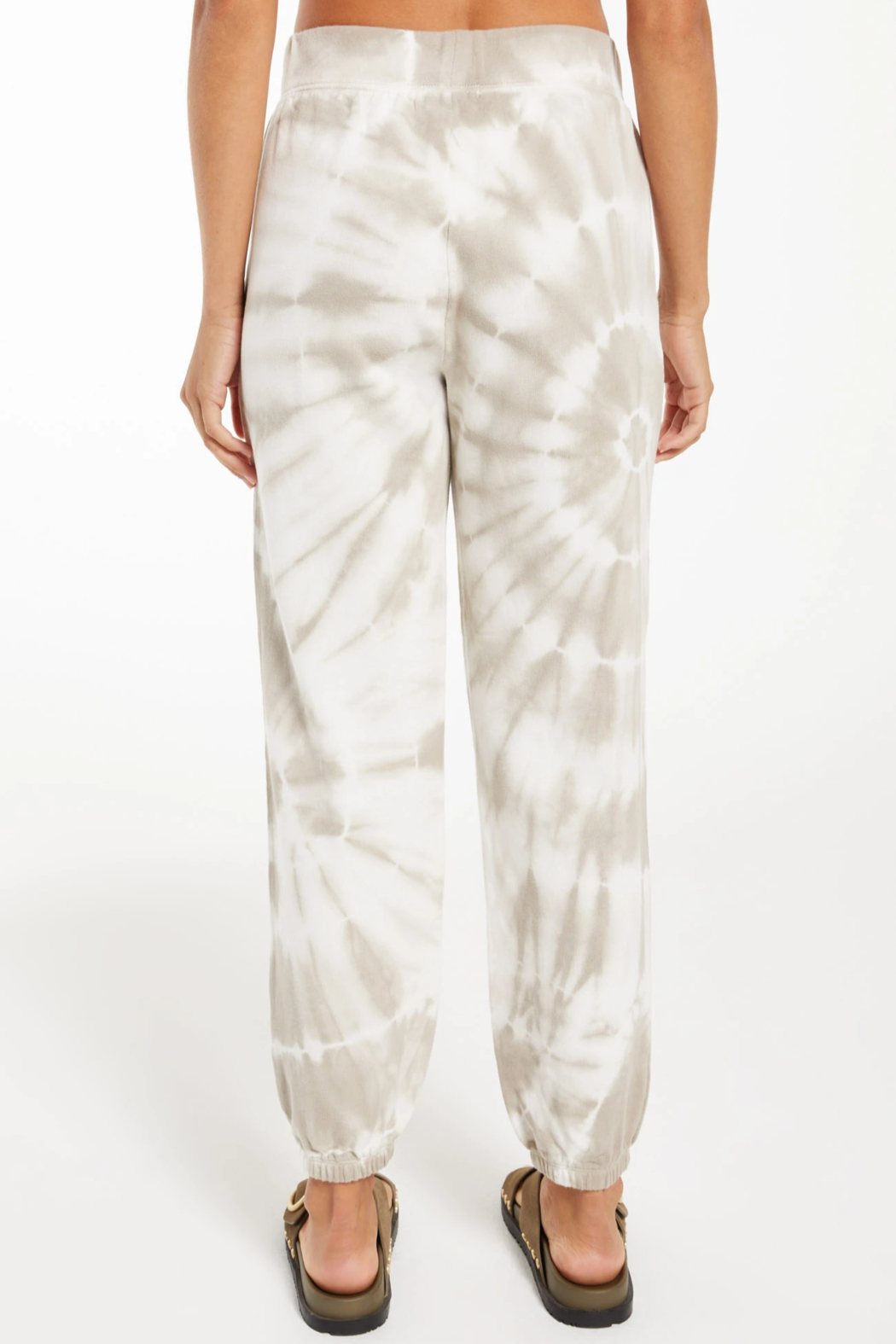 z supply Emery Spiral Tie-Dye Jogger - Side Cropped Image