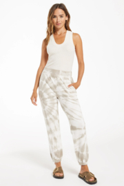 z supply Emery Spiral Tie-Dye Jogger - Front cropped