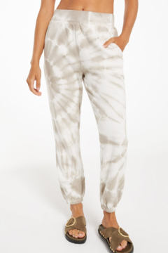 Shoptiques Product: Emery Spiral Tie-Dye Jogger