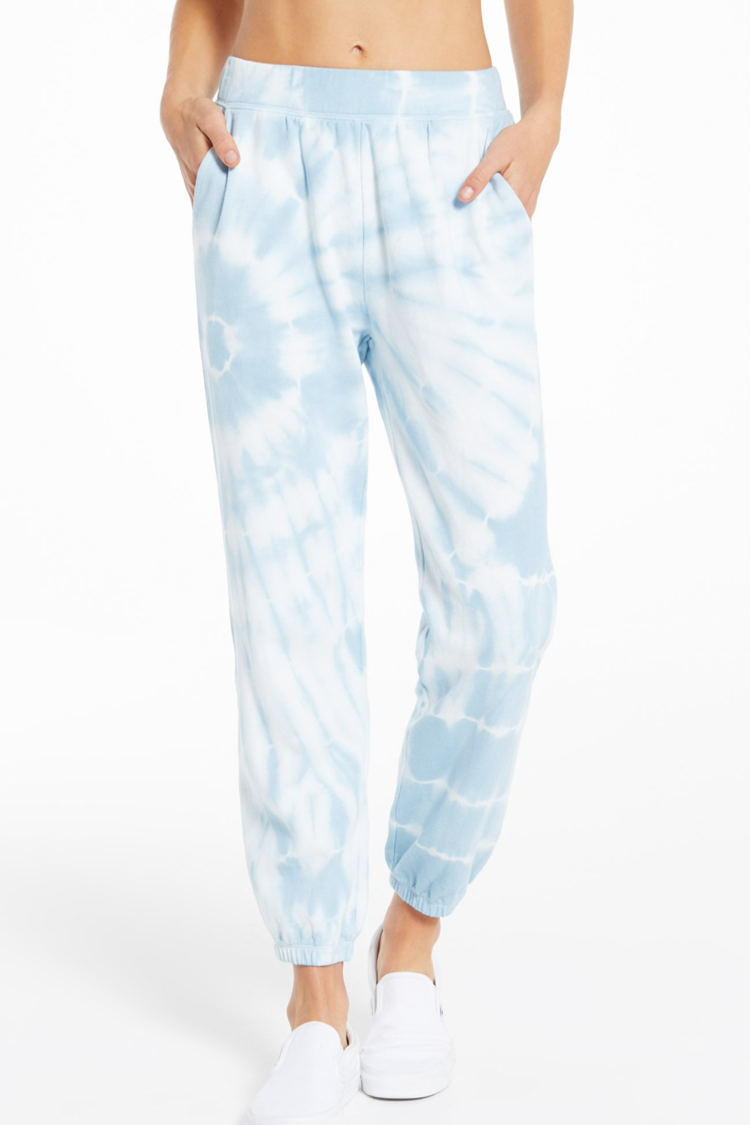z supply Emery Spiral Tie-Dye Jogger - Front Cropped Image