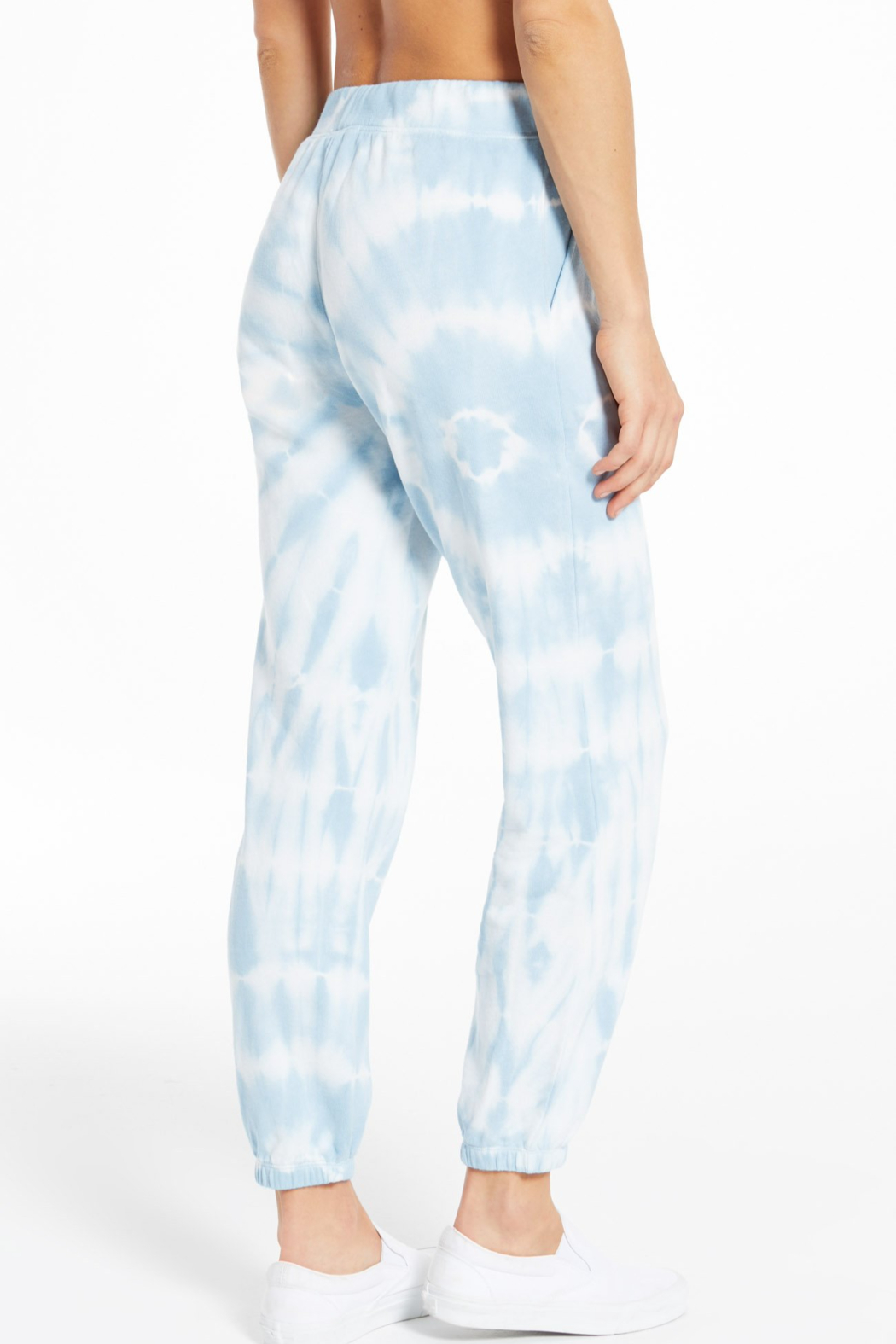 z supply Emery Spiral Tie-Dye Jogger - Front Full Image