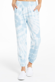 z supply Emery Spiral Tie Dye Jogger - Product Mini Image