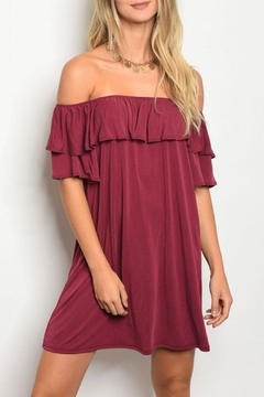 emetla Ruffle Dress - Product List Image