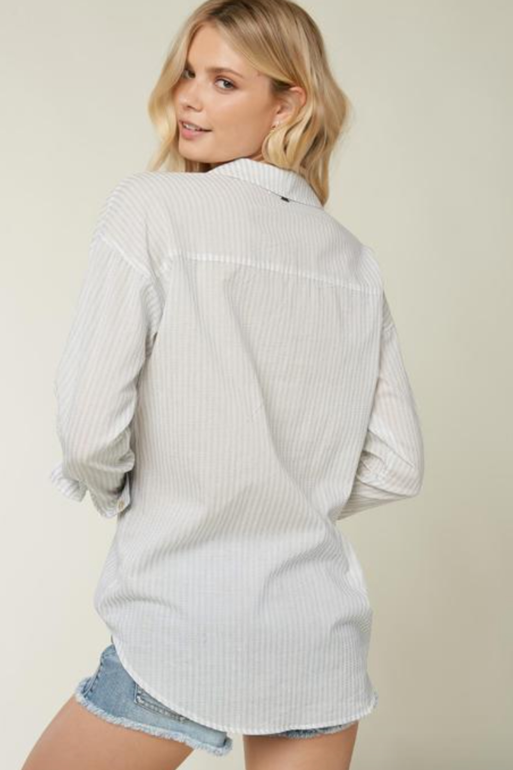 O'Neill Emett Button Up Top - Side Cropped Image