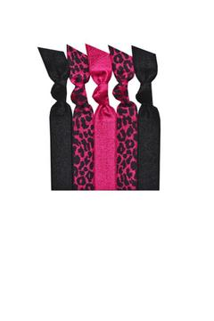 Emi Jay Pink Jaguar Hair Tie Packet - Product List Image