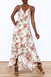 Emile et Ida Floral Printed Maxi Dress - Product Mini Image