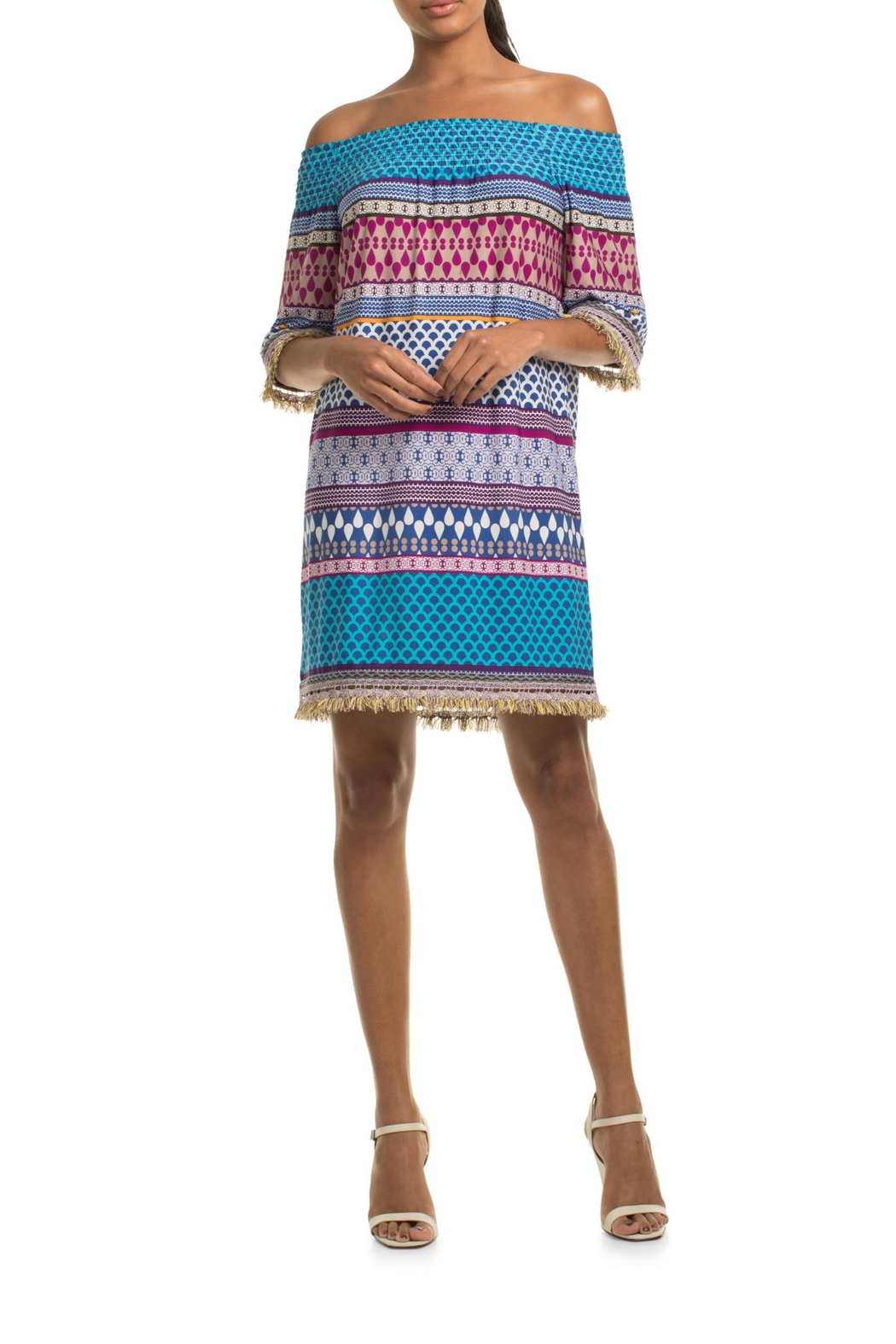 Trina Turk Emilia Dress - Side Cropped Image
