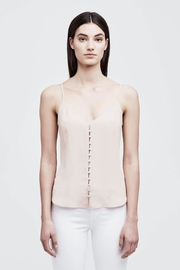 L'Agence Emiliana Button-Up Cami - Front cropped
