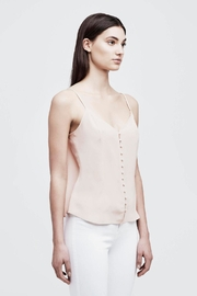 L'Agence Emiliana Button-Up Cami - Front full body