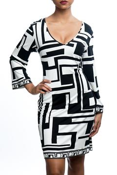 Shoptiques Product: Abstract Patterned Dress