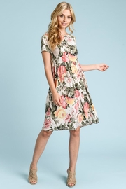 Les Amis Emily Floral Dress - Product Mini Image