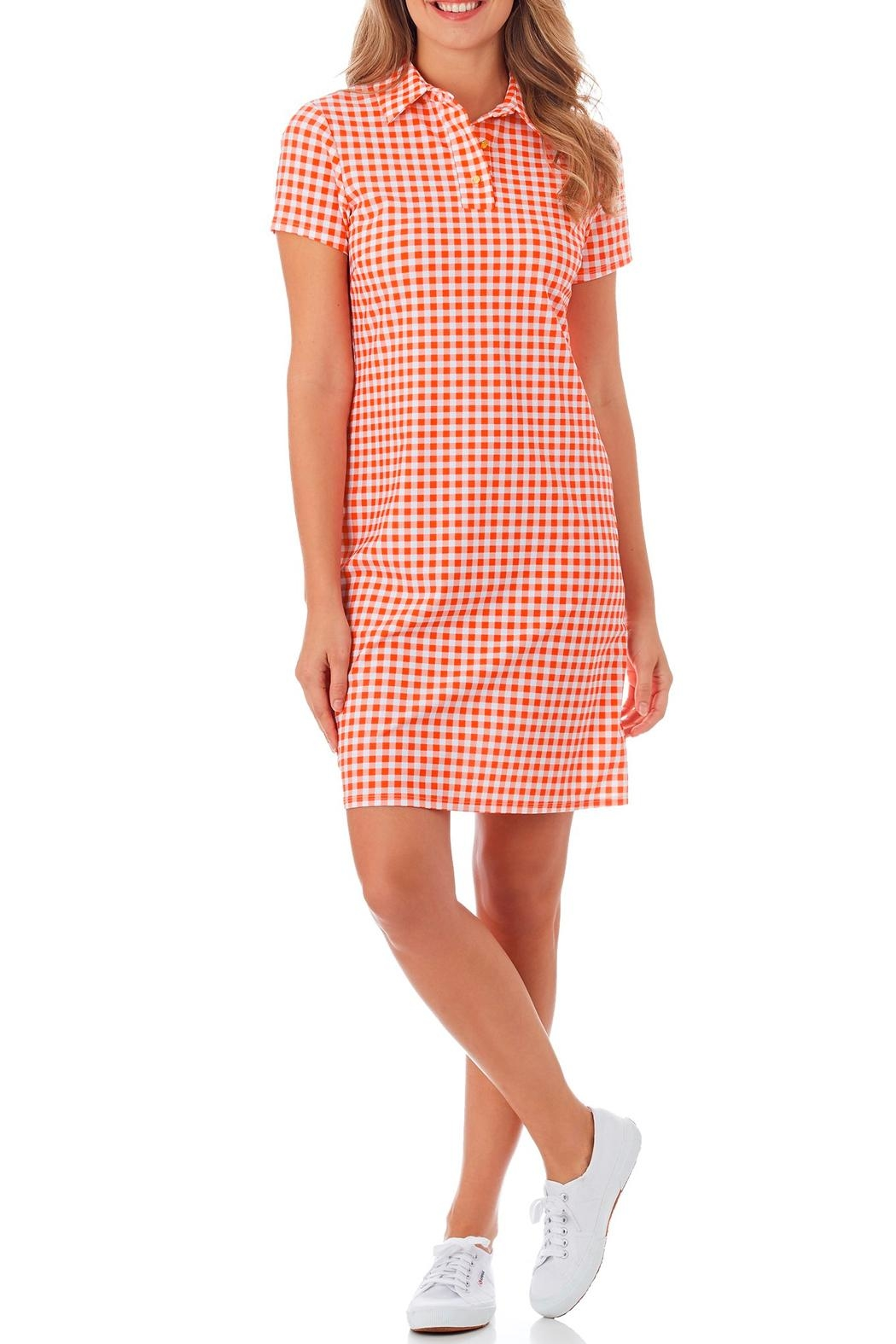 Jude Connally Emily Polo Dress - Front Cropped Image