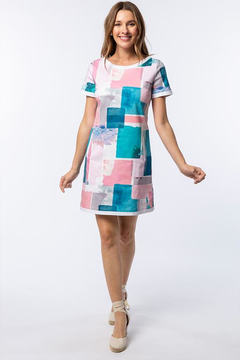 Tyler Boe Emily Watercolor Dress - Product List Image