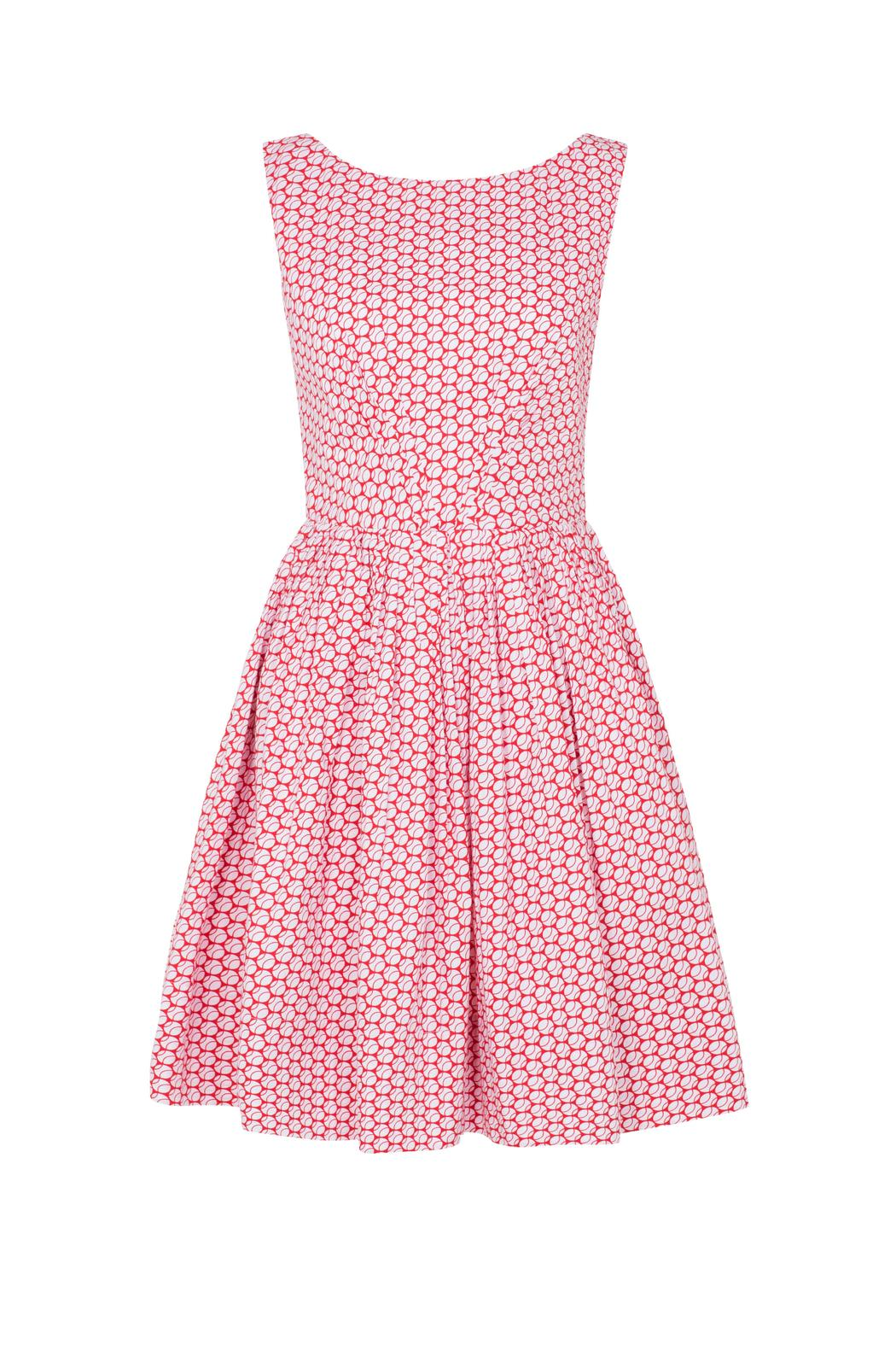 Emily & Fin Baseball Polkadot Dress - Main Image