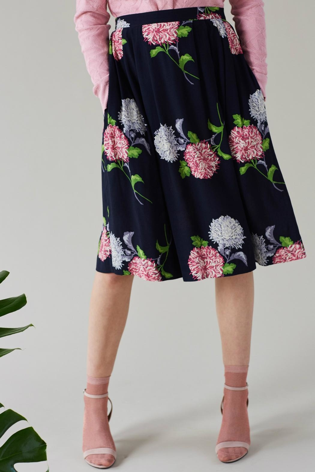 Emily & Fin Faye Dahlia Skirt - Side Cropped Image