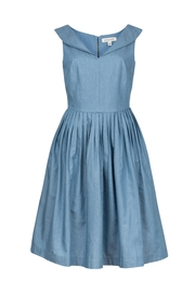Emily & Fin Lulu Tencel Dress - Front cropped