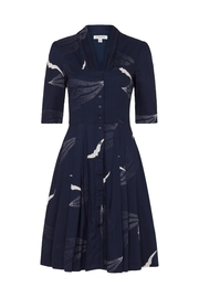 Emily & Fin Bird Button Down Dress - Product Mini Image
