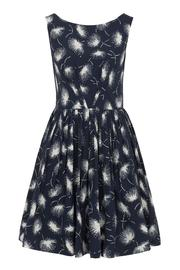 Emily & Fin Navy Firework Dress - Product Mini Image