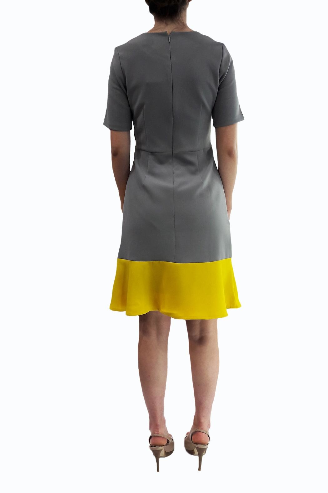 Emily lovelock Geometric Dress - Side Cropped Image