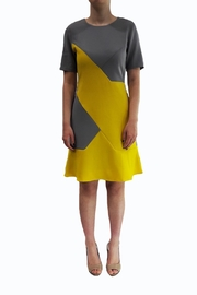 Emily lovelock Geometric Dress - Front cropped