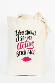 Emily McDowell Active Face Tote Bag - Product Mini Image