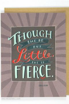 Emily McDowell Fierce Card - Product List Image