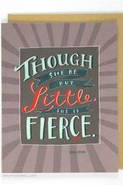 Emily McDowell Fierce Card - Product Mini Image