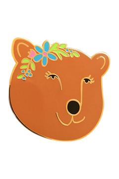 Emily McDowell Flower Bear  Pin - Product List Image