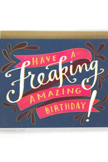 Shoptiques Product: Freaking Amazing Birthday Card - main