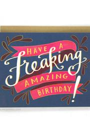 Shoptiques Product: Freaking Amazing Birthday Card - Front cropped