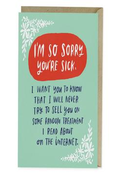 Emily McDowell Get Well Card - Alternate List Image