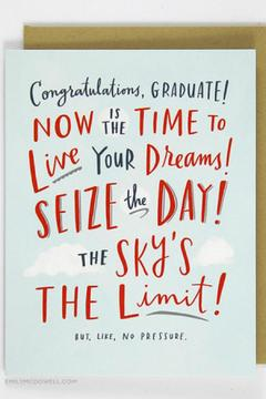 Shoptiques Product: Seize The Day Card