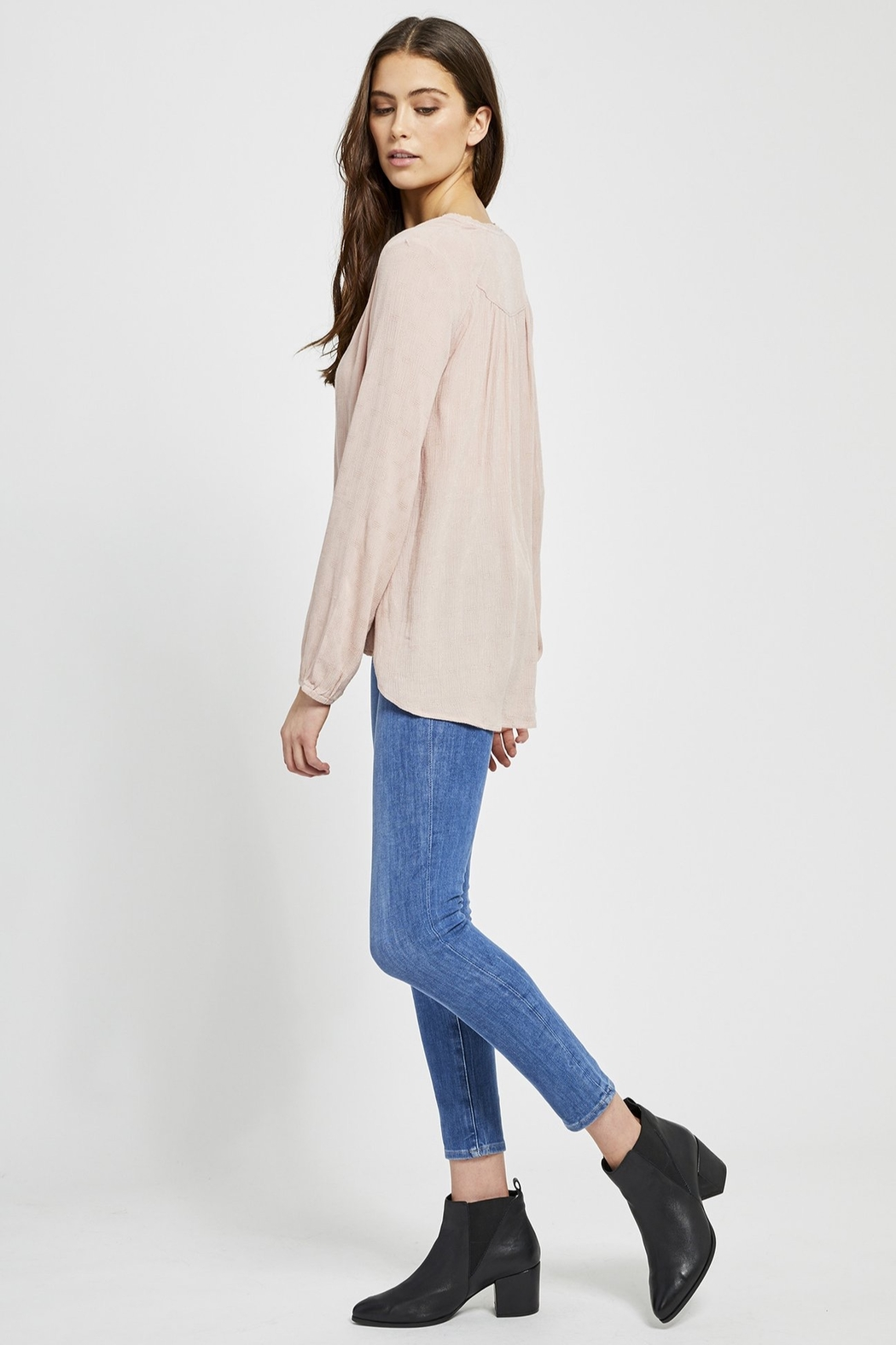 Gentle Fawn Emma Button Blouse - Front Full Image