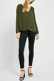 Gentle Fawn Emma Button Front Top - Front cropped