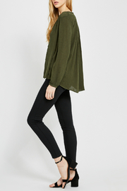 Gentle Fawn Emma Button Front Top - Front full body