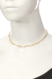 FAME ACCESORIES Emma Chain Necklace - Side cropped