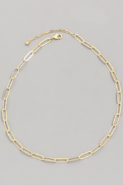FAME ACCESORIES Emma Chain Necklace - Product Mini Image