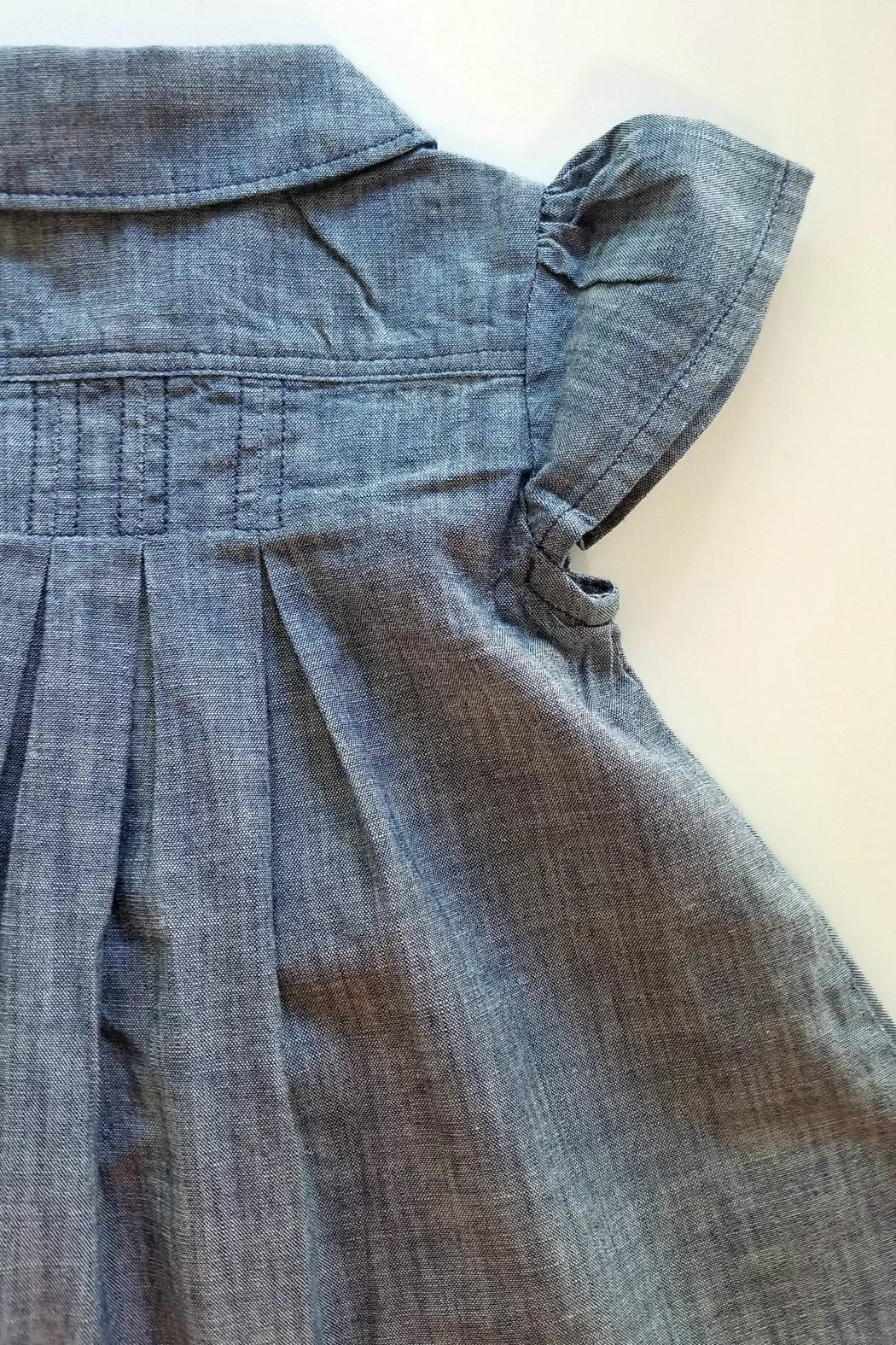 Blu & Blue Emma Chambray Dress - Front Full Image