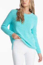 525 America Emma Crewneck Shaker Sweater - Front cropped